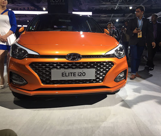 Hyundai Motor India launched new 2018 Elite at Auto Expo 2018