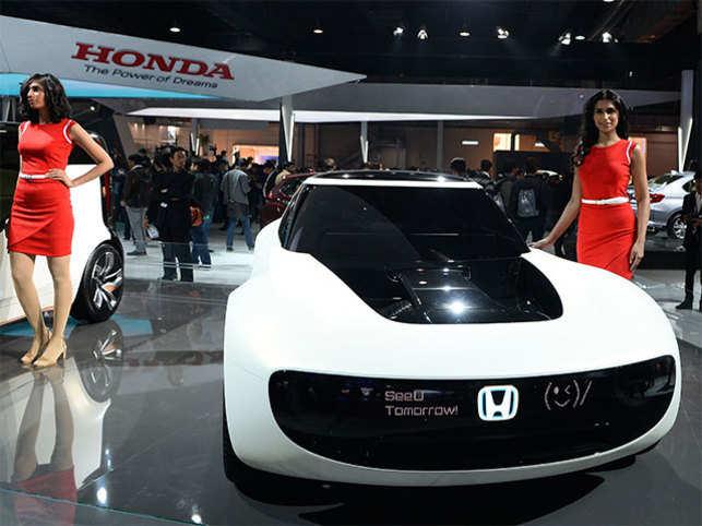 Honda Cars Auto Expo 2018 No Ev Strategy For India Yet Waiting