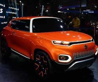 Watch: Maruti showcases Future-S concept SUV at Auto Expo 2018