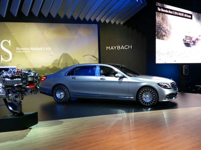 Made-in-India boost: Mercedes launches BS VI engine Maybach at Rs 2. 73 cr; unveils E All-Terrain