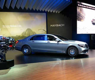Mercedes launches BS VI engine Maybach at Rs 2. 73 cr; unveils E All-Terrain