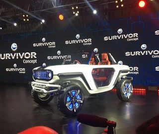 Maruti Suzuki unveils Concept e-Survivor
