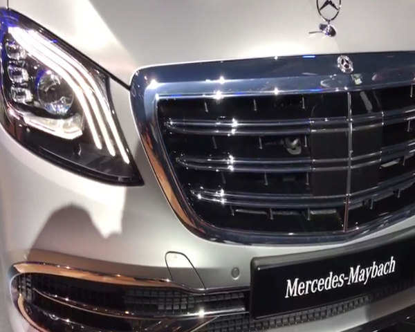 Auto Expo 2018 Watch Mercedes Benz Maybach S650 Launched At Auto