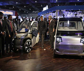 EVs, hybrids, eco-friendly vehicles give glimpse of future
