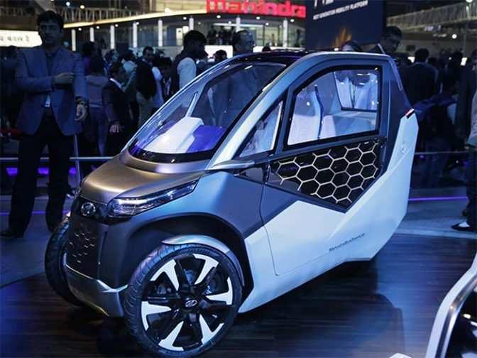 Auto Expo 2016 Launches Updates News Images: Live Updates: Uniti Unveils 5-seater