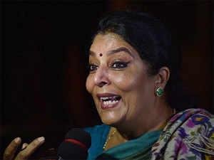 Congress protests in Rajya Sabha against Modi's remark on Renuka Chowdhury