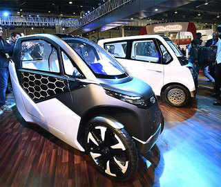 Car makers taking the green road; showcase a range of e-mobility solution