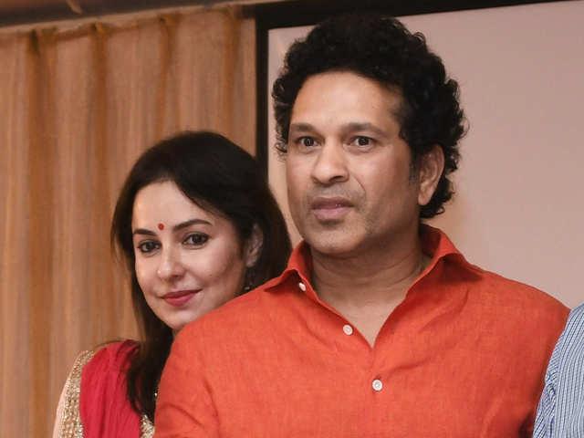 Sachin Tendulkar, wife Anjali launch book on child health care