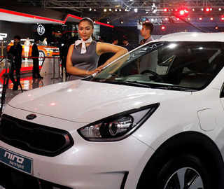 Auto Expo 2018: Watch Kia Motors' big India debut with EVs, Hybrids