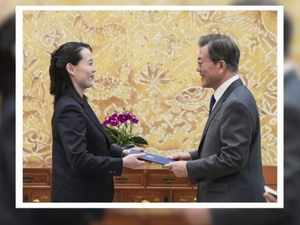Watch: Kim Yo Jong delivers North's invitation to South Korean president