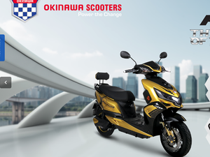 Okinawa aims to sell 10,000 e-scooter units in FY18