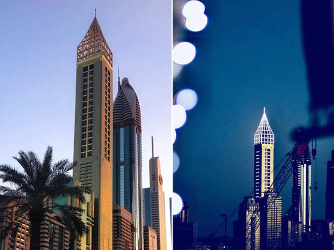 Location - Gevora: The world's tallest hotel opens in ...