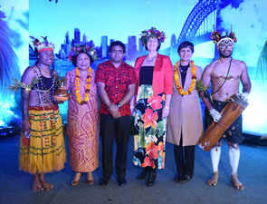 Pacific countries host party to highlight food and music of the region in Delhi