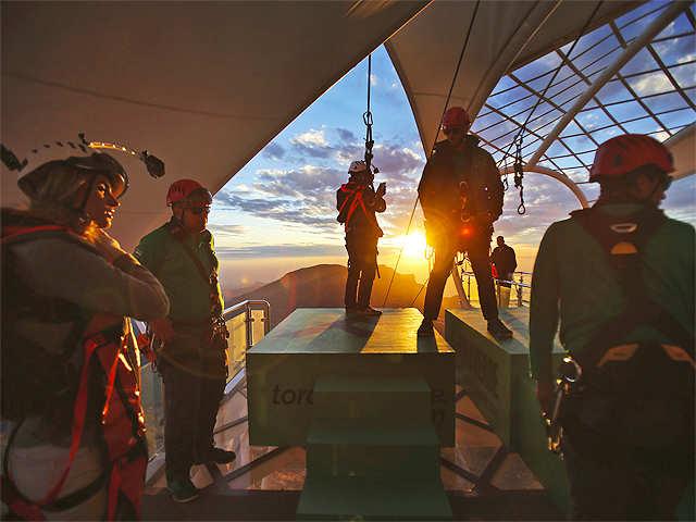Metres Above Sea Level Worlds Longest Zip Line Opens In - Metres above sea level
