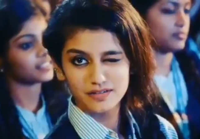 Priya prakash varrier when malayalam actress priya prakash new delhi one wink and she made the social media go into a frenzy with a 28 second clip from a film song the rising malayalam star priya prakash varrier altavistaventures Gallery