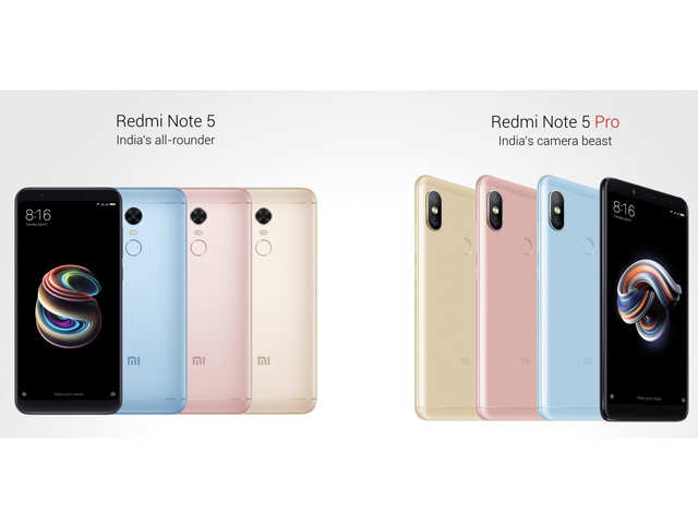 Chinese smartphone giant launches Xiaomi Redmi Note 5, Note 5 Pro