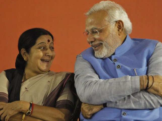 SushmaSwarajModi
