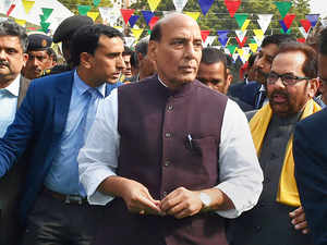 We don't want to be powerful to threaten others: Rajnath Singh