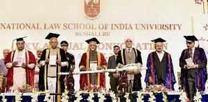 Bengaluru: Vice President Hamid Ansari, Chief Justice of India Justice JS Khehar...