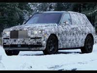 Rolls Royce calls their high-bodied, mould-breaking car, Cullinan