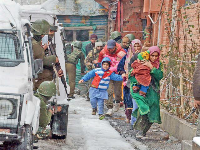 Karan Nagar gunfight: Constable Raghunath Gaith promoted for foiling attack on CRPF camp