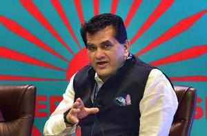 Hyderabad : Niti Aayog CEO Amitabh Kant speaks at a panel discussion on 'The Cit...