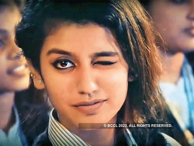 Priya Prakash Varrier In The Wink Of An Eye Take A Look