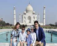 Justin Trudeau begins India trip with Taj visit