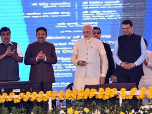 PM Modi lays foundation stone of Navi Mumbai International Airport