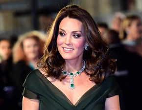 BAFTA 2018: Kate Middleton nails maternity style in black dress code