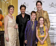 Justin Trudeau's Bollywood Night With SRK, Aamir