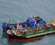 North Koreans breaching UN sanctions on high seas