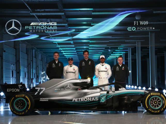 Mercedes Amg F1 World Champions Mercedes Amg Unveil 2018 Season Car