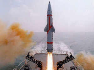 'Dhanush' ballistic missile successfully test-fired