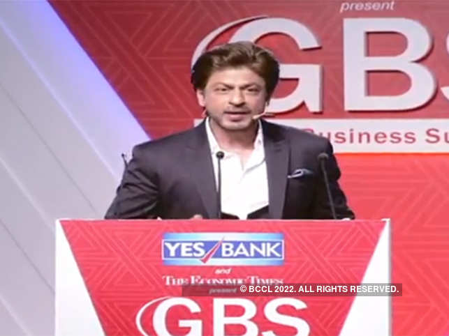 Image result for shah rukh khan Global Business Summit