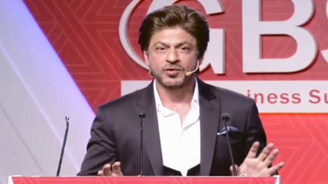 Big data will aid in how we market content in cinema: Shah Rukh Khan at ET GBS 2018