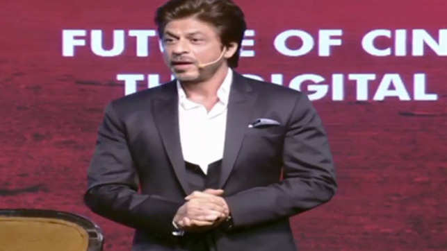 Watch: Shah Rukh Khan at his wittiest best at ET GBS 2018
