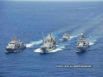 India to host mega naval exercise amid China's manoeuvring in high seas