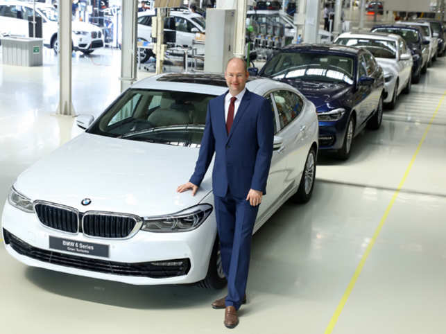 BMW India rolls out BMW 6 Series of the production line in Chennai