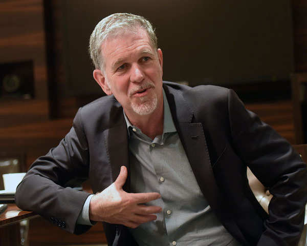Reed Hastings Not Prime Youtube Our Biggest Competitor Netflix