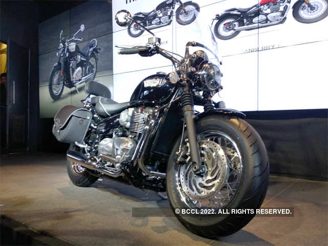 Based On Bonneville Bobber Triumph Bonneville Speedmaster Launched