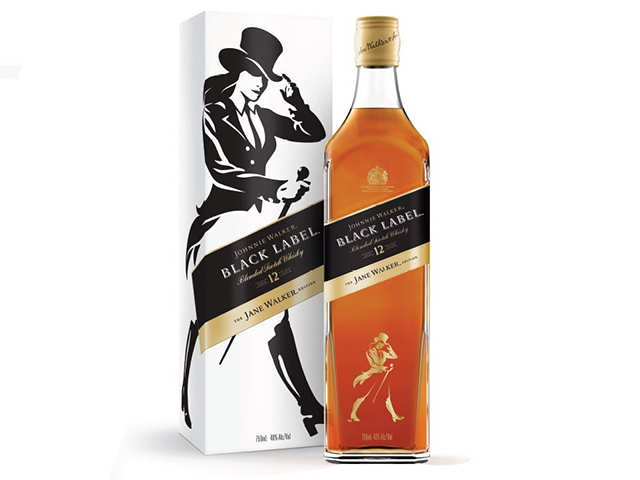 A woman's world! Diageo just introduced a limited-edition, Jane Walker version