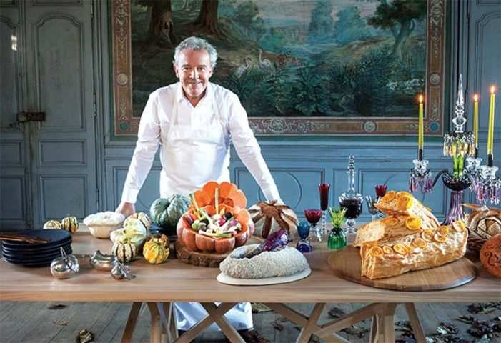 France's most acclaimed chef Alain Passard explains how vegetables remain his 'passion and love'