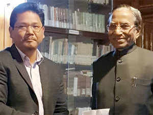 BJP-backed Conrad Sangma to be Meghalaya CM, swearing-in on Monday