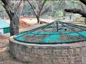 this summer rejuvenated wells and ponds will keep cubbon park green