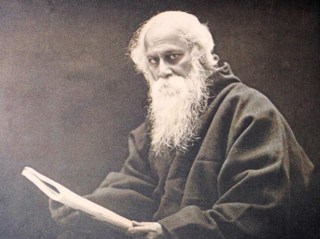 Rabindranath Tagore: Signed hardcover copy of Rabindranath ...