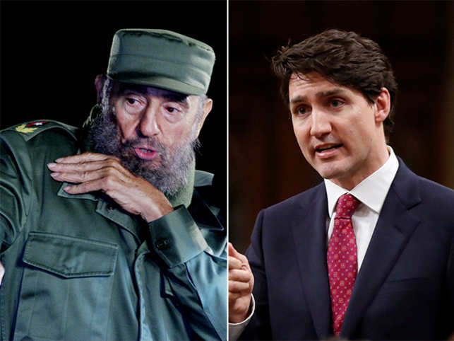 The Canadian government was recently forced to deny a rumour that Cuban dictator Fidel Castro is Prime Minister Justin Trudeau's real father.  Here are other twisted stories revolving around the lineage of some of the most popular world leaders.