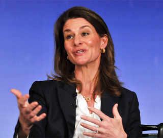 Melinda Gates believes economic empowerment of women is the key to their development