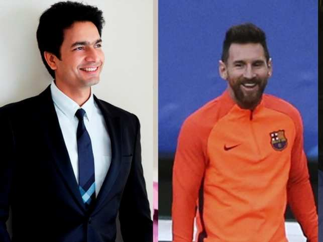 Rahul Sharma's fanboy moment will come true when he watches Messi play in FIFA, live