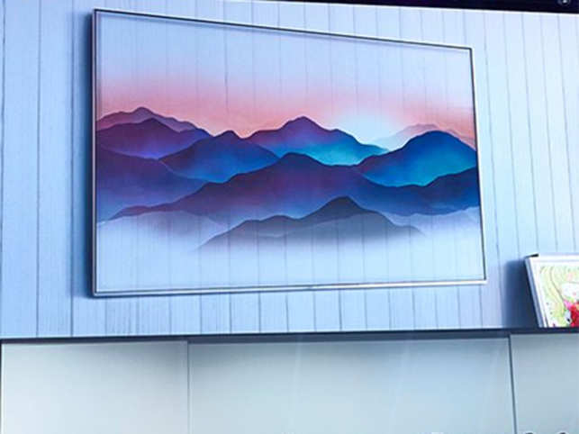 Samsung's new 'invisible' QLED TV with Bixby will merge with the background
